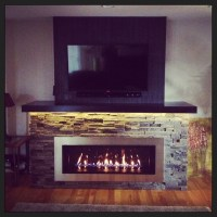 Fireplace Bump out Renovation - Contemporary - Other - by ...