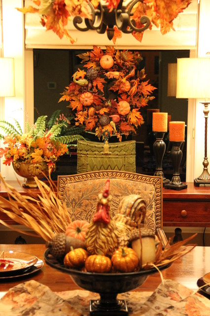 living room side table decorating ideas modular furniture systems fall dining tablescape - traditional ...