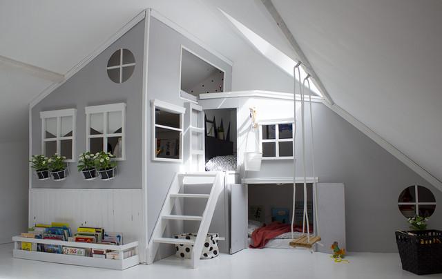 projet cabane dans une chambre d enfant