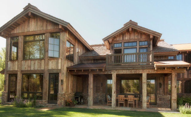 Barn Wood Siding Rustic Exterior Other By Trestlewood