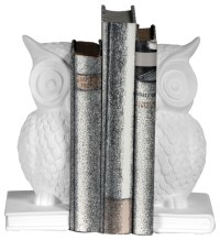 Piper Owl Bookends - Contemporary - Bookends - south east ...