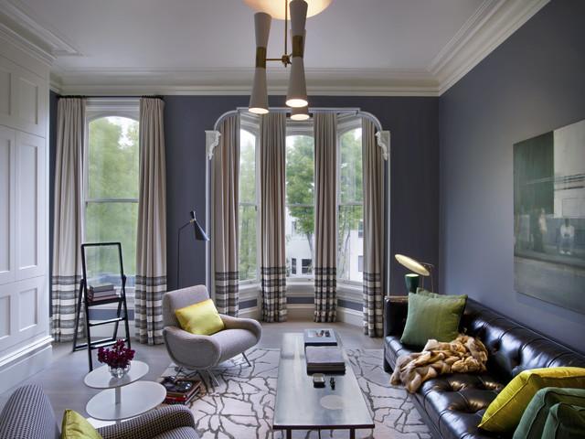 San Francisco Victorian  Contemporary  Living Room  New