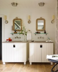 Skaneateles Lake House - Beach Style - Bathroom - new york ...