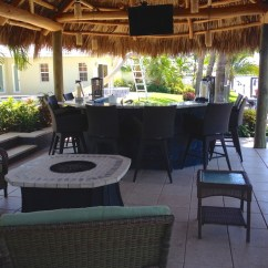 Island Style Decorating Living Room Pictures Of Rooms Ideas Tiki Hut, Outdoor Kitchen And Landscaping - Tropical ...