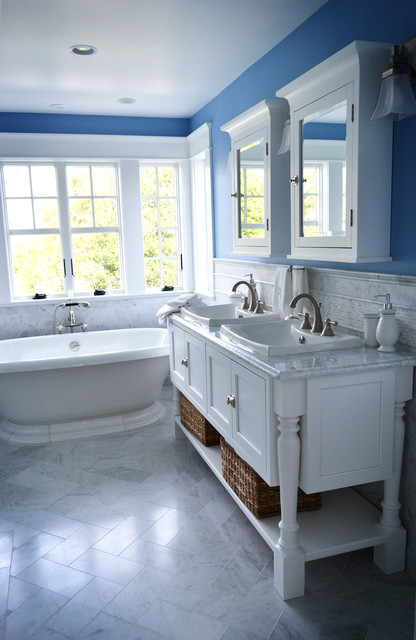 living room layout 4 chairs pictures of colors for my houzz: spacious cottage on the jersey shore - bathroom ...