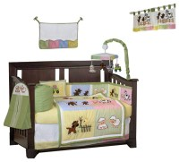 BabyFad Barnyard Farm 10-Piece Crib Bedding Set - Baby ...
