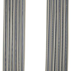 Blue Velvet Living Room Chairs Cheap Furniture Loom Decor Gray, Teal And Stripe Pleated Curtain ...