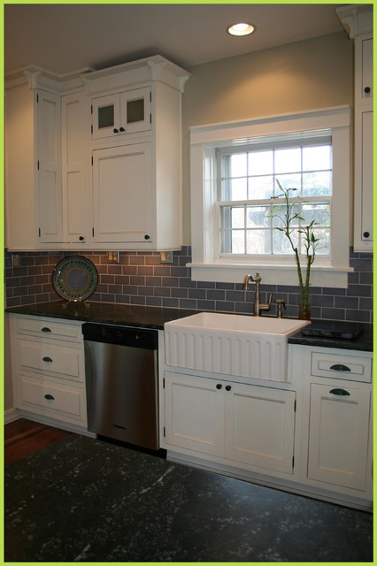 1900s Georgian Home Kitchen Remodel  Traditional