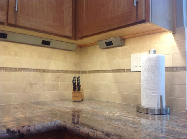 Hidden under counter outlets  Traditional  Kitchen  San Francisco  by Castle Rock Construction