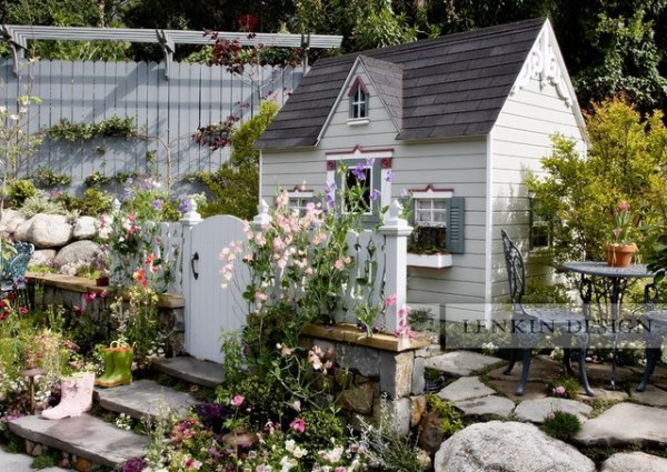 miniature victorian playhouse