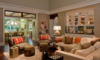 Tranquil Eclectic Residence - Transitional - Living Room ...