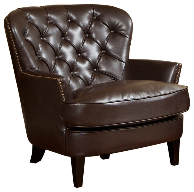 tafton club chair outdoor chairs with cushions best selling home decor tufted bonded leather