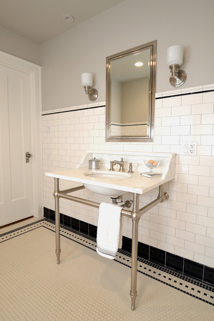 Wilmette Vintage Bath traditional-bathroom