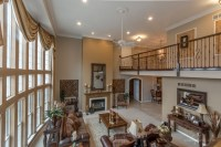 8,000 square foot home 2 story greatroom with catwalk ...