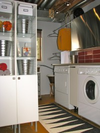 Industrial Laundry Room - Eclectic - Laundry Room - ottawa ...