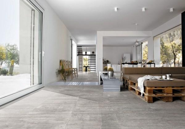 gray porcelain tile living room Living Room Porcelain Tiles - Modern - Living Room - Melbourne - by Perini Tiles
