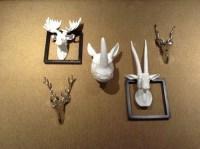 Animal Head Wall Decor