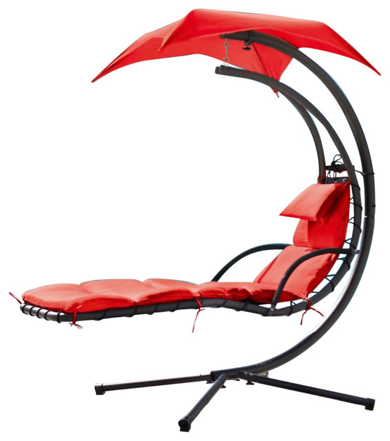 outdoor dream chair white kitchen chairs renava bahama modern metal contemporary hammocks and swing by vig furniture inc