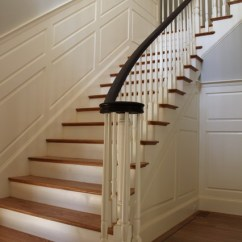 Hanging Kitchen Shelves Gel Mats Interior Finish Carpentry - Traditional Staircase ...