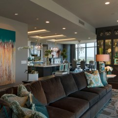 Chocolate Brown Living Room Chairs Most Popular Furniture Austonian Luxury Condo - Contemporary ...