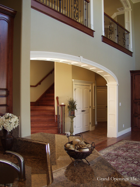 Elliptical Arched Cased Opening Unit  Traditional  Entry