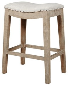 Harper Counter Stool, Stone Wash
