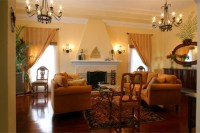 1920's House - Mediterranean - Living Room - Los Angeles ...