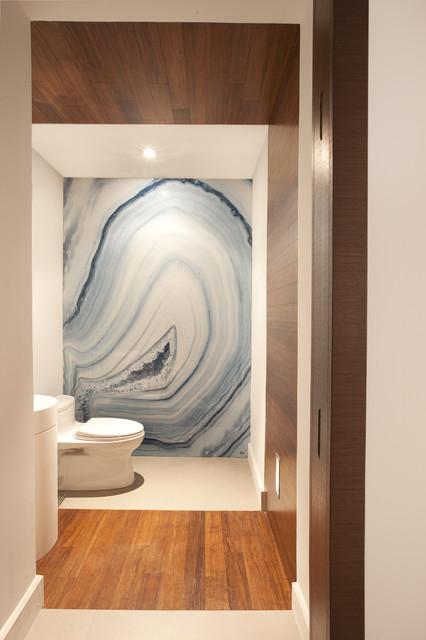 A Modern Miami Home contemporary-bathroom