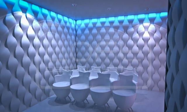 3D Wandpaneele aus Gips - Modern - Sonstige - von ARTIL Wandpaneele aus Gips