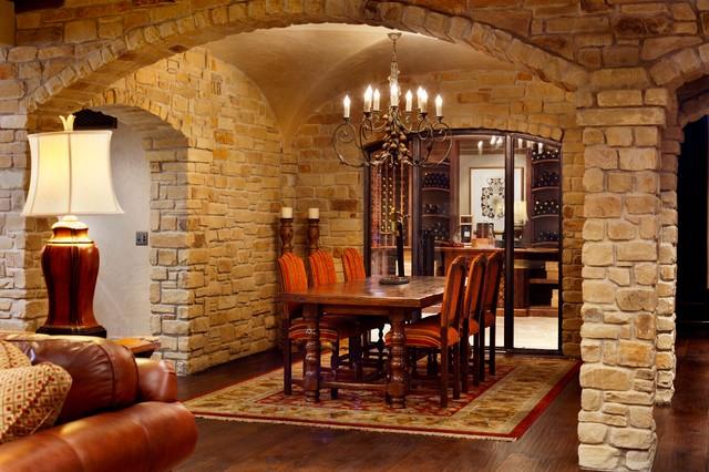Modern Italian  Mediterranean  Dining Room  Wichita