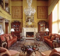Manor House - Traditional - Living Room - Austin - by ...