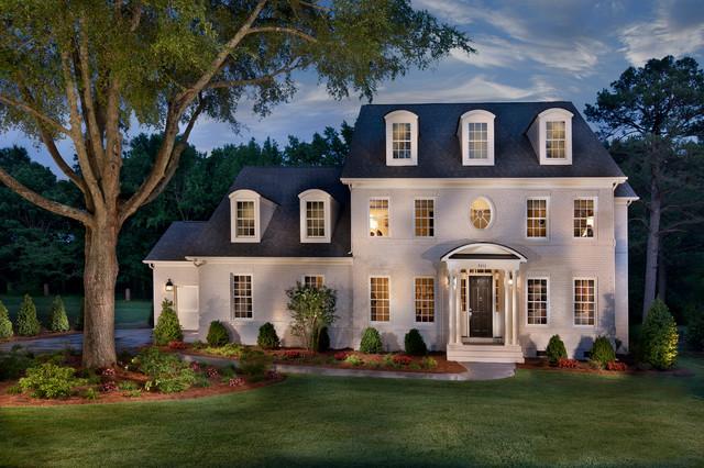 Triveny Neighborhood Model Home  Traditional  Exterior