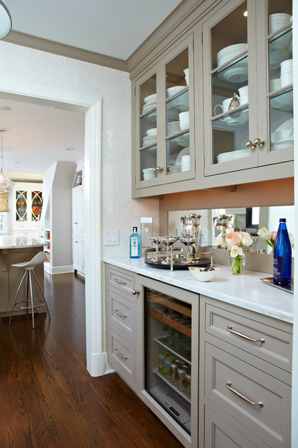 DEANE  Banquette  Transitional  Kitchen  New York  by