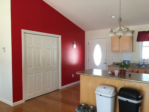 purple living rooms houzz ethan allen room chairs choosing bedroom colors - red accent wall in