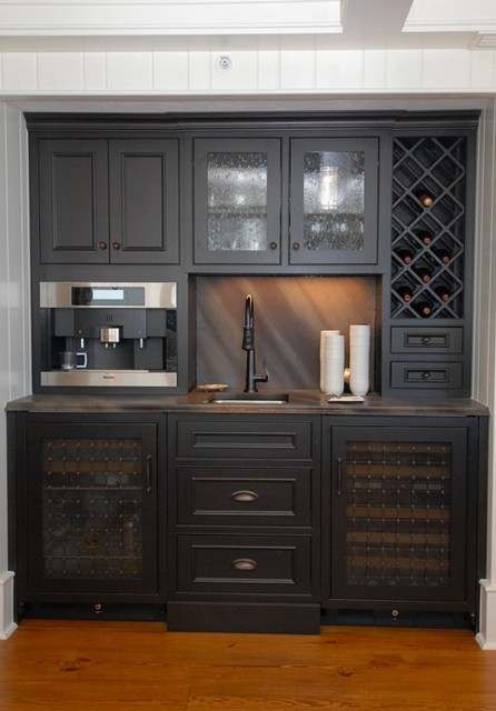 New Smyrna beach condos traditional-home-bar