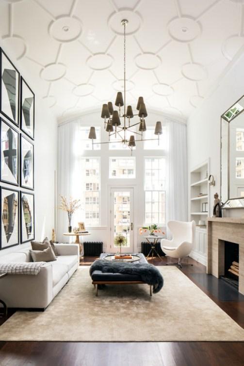 Duplex Apartment Combination contemporary-living-room
