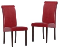 Warehouse of Tiffany Red Dining Chairs (Set of 2 ...