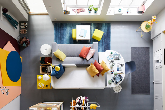 How Do I Decorate A Small Open Plan Living Space Houzz Nz