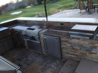 Outdoor Kitchens - san francisco - di Custom Fireplace ...