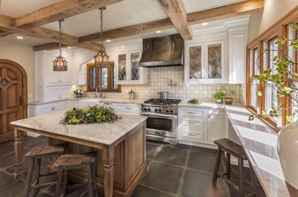 tudor style kitchen Kitchen of the Week: Wisconsin Renovation Restores Tudor Style
