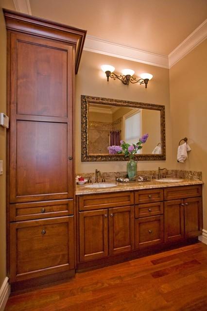 small guest bathroom design by Bay Area building contractor  Traditional  Bathroom  san