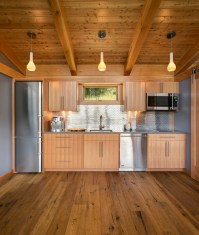 Idaho 550 sq ft FabCab - Rustic - Kitchen - Seattle - by ...