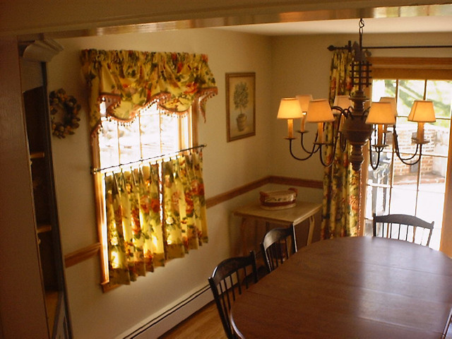 rustic kitchen valances grey tile custom cafe curtain with valance and panels