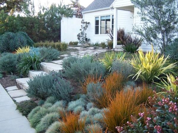 english garden california style
