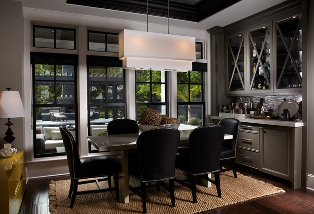 Leach Residence  Contemporary  Dining Room  Miami  by