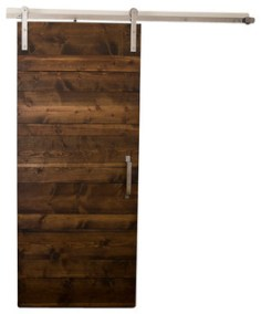 Horizontal Panel Door