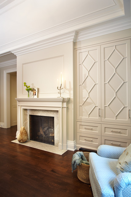 Master bedroom fireplace  Traditional  Bedroom  Toronto