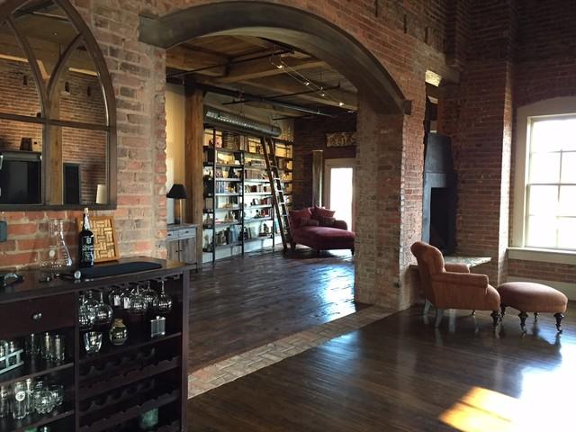 Downtown Durham NC Loft Renovation Of A 100 Yr Old
