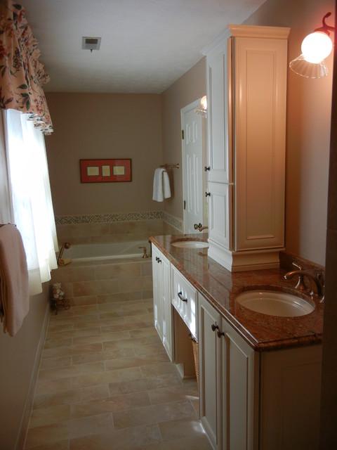 Narrow Master Bathroom Remodel Marietta GA 30062