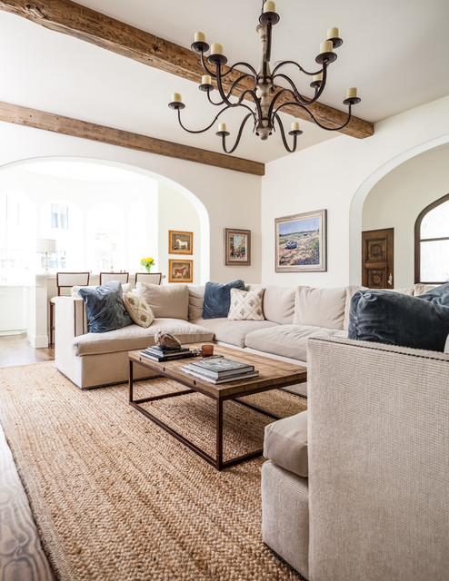 Princeton Residence 2 mediterranean-living-room